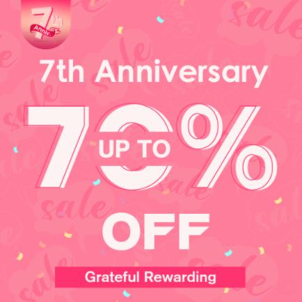 Newchic 7th Anniversary Sale